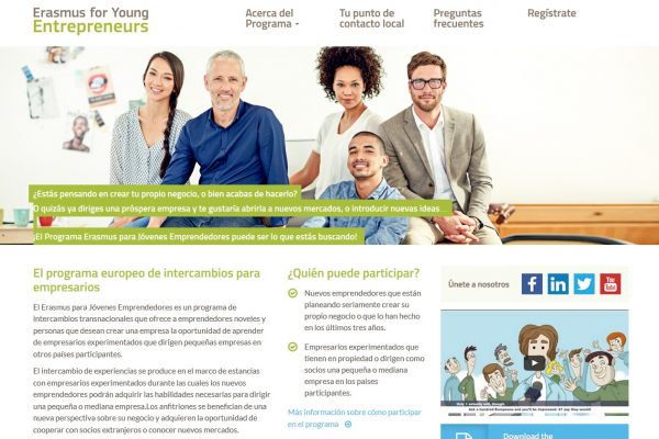 Proyecto: ERASMUS FOR YOUNG ENTREPENEURS