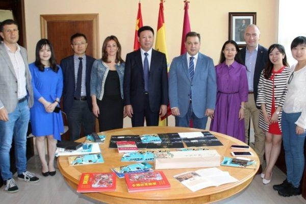Se intensifican las relaciones entre Albacete y la ciudad china de Nanchang