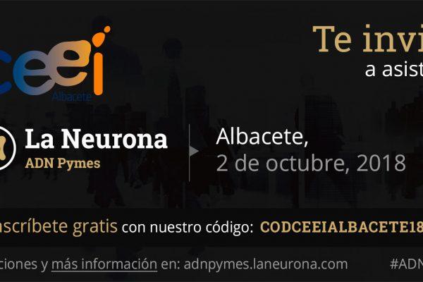 LLEGA A ALBACETE LA NEURONA ADN PYMES, EL MAYOR EVENTO PARA PYMES DEL PAÍS