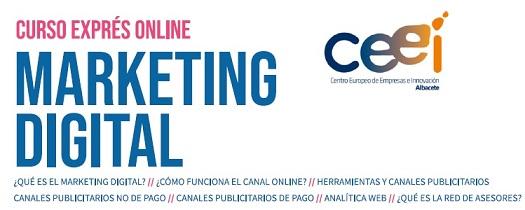 Curso exprés de Marketing Digital (Albacete)