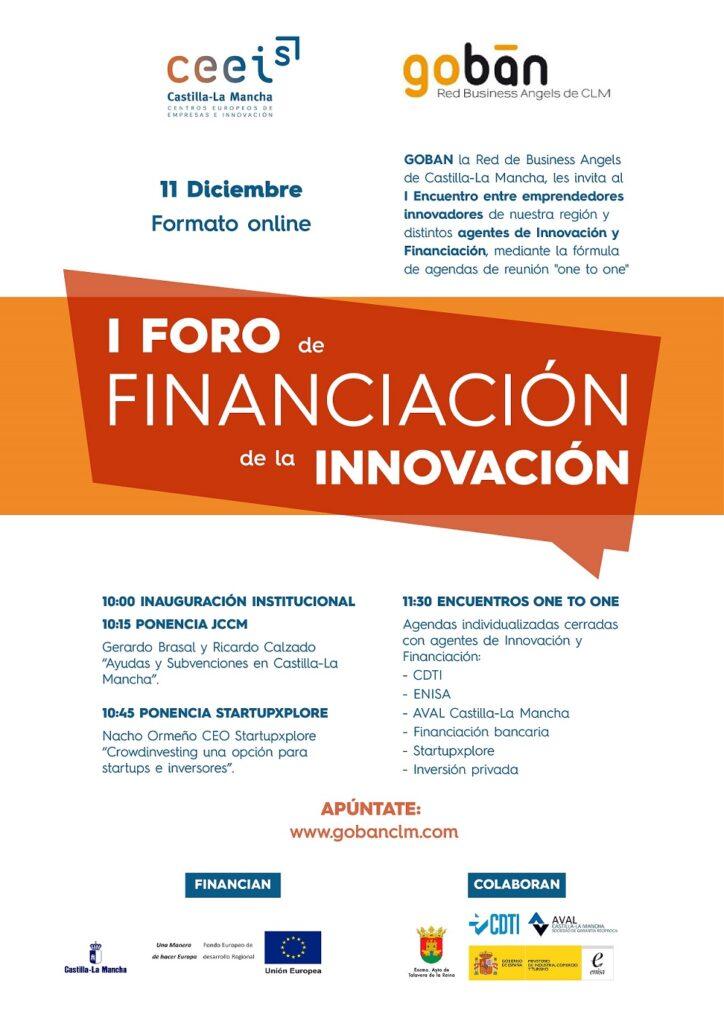 I-Foro-de-Financiacioìn-de-la-Innovacion Diciembre